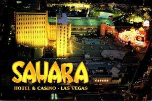 Nevada Las Vegas Sahara Hotel and Casino