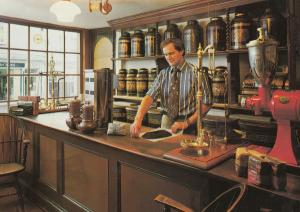 Bath Tea & Coffee Maker Scales Avon Chuter Rooms Postcard