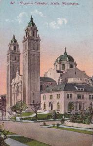 Washington Seattle Saint James Cathedral 1912