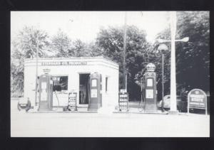 ST. CLAIR MISSOURI DUEMLER'S GAS STATION ROUTE 66 MO. POSTCARD STANDARD OIL