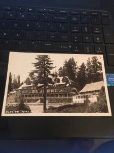Vtg Postcard: Glacier Point Hotel