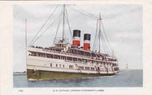 Oceanliner/Ship/Steamer, S. S. Cayuga, Canada Steamship Lines, 1900-1910s