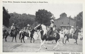Cowgirl Vivian White , 1930-40s
