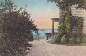 Rhode Island Newport Convent Of Our Lady Of The Cencale View Of Bay Albertype
