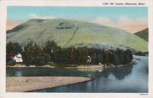 Montana Misoula Mount Jumbo