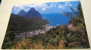 West Indies st Lucia The Two Pitons Of Soufriere Edexand Ltd - Gebraucht 2010