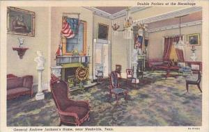 Tennessee Nashville Double Parlors At The Hermitage General Andrew Jacksons H...