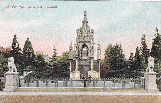 Monument Brunswick, GENEVE, Switzerland, 1900-1910s