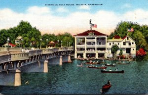 Kansas Wichita Riverside Boat House