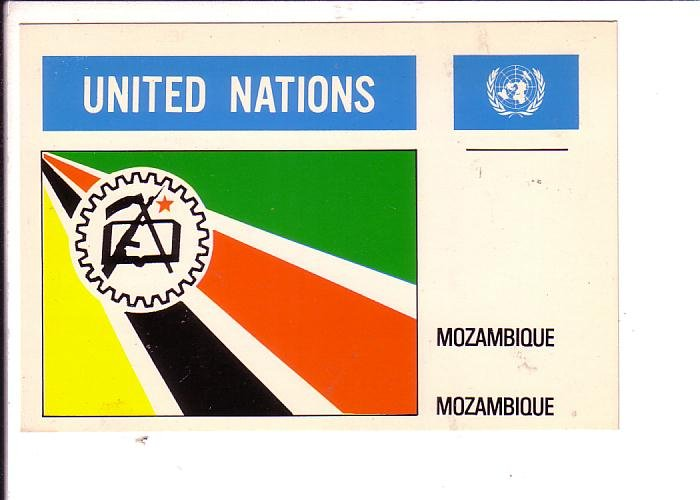 Mozambique Flag, United Nations