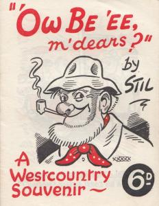 A Cornwall Westcountry Souvenir Old 20 Page Comic Humour Book
