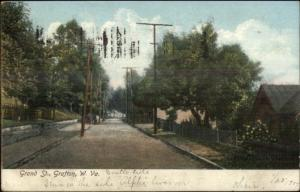 Grafton WV Grand St. c1910 Postcard
