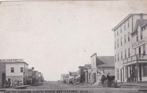 BATTLEFORD , Saskatchewan , Canada , 00-10s ; King Street , North