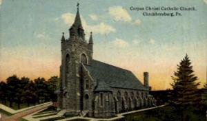 Corpus Christi Catholic Church  Chambersburg PA Unused