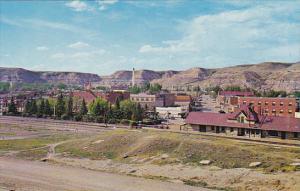 Canada Town View Drumheller Alberta