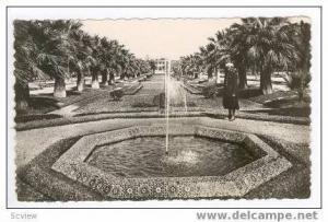 RP Casablanca, Morocco, Parc Lyautey Un Bassin