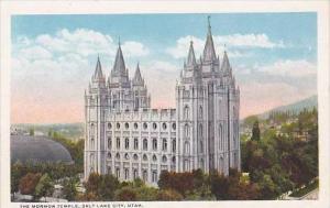Utah Salt LAke City The Mormon Temple
