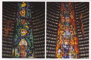 Brasil Rio De Janeiro Rj Green Stained Glass The Single Church
