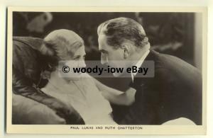 us0081 - Film Actress Ruth Chatterton & Paul Lukas Picturegoer Film Partners P24