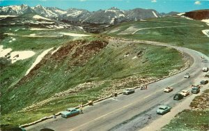 Postcard Tundra Curves on Trail Ridge Road, Rocky Mountain National Park