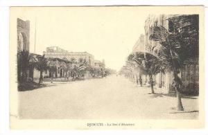 La Rue d Abyssinie, Dj ibouti, Africa, 1900-1910s