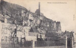 Ruines et Lanterne de ROCHECORBON, Indre et Loire, France, PU-1907