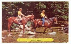 Female trail riders, Boise, Idaho, 40-60s