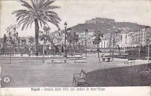 Interno Della Villa Con Veduta Di Sant'Elmo, Napoli (Campania), Italy, 1900-1...