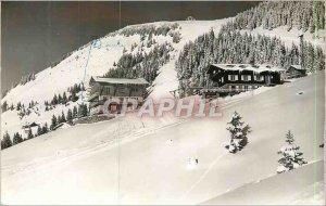 Postcard Modern Super Chatel 2000m in 1647 (Haute Savoie) Escale Blanche and ...