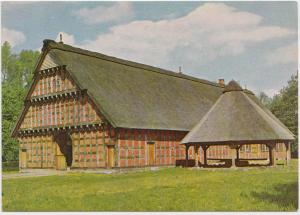 Quatmannshof mit Dreschturm, Museumsdorf Cloppenburg, Niedersachsisches