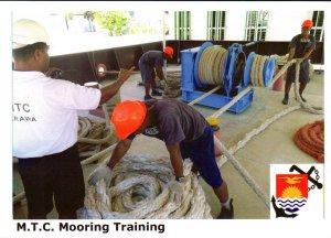 Kiribati Marine Training Centre  -  MOORING