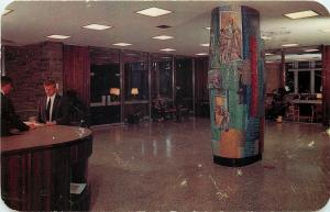Hamilton New York~Colgate University Library~Paintings on Postcard