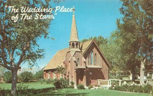 Little Church Of The West Stars Wedding Place Las Vegas NV Chrome VTG  P110