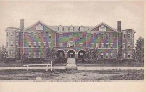 Ohio New Lexington County Infirmary Albertype