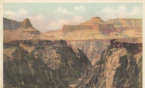 GRAND CANYON National Park, Arizona; 10-20s; No Man's Land, Fred Harvey H-1539