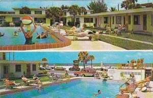 Florida Clearwater Beach Golden Beach Motel Apartments With Pool