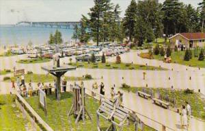 Michigan Mackinaw City Fort Michilimackinac