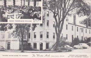 Maine Hallowell The The Worster Hotel & New Terrace Room