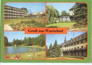Germany, Gruss aus Warmbad, used Postcard