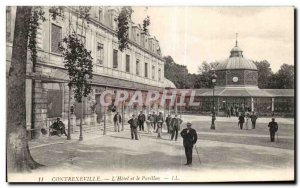 Old Postcard Contrexeville The Hotel and the Pavilion