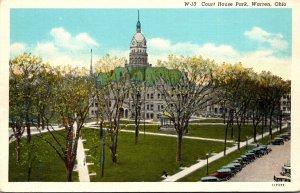 Ohio Warren Court HOuse Park Curteich