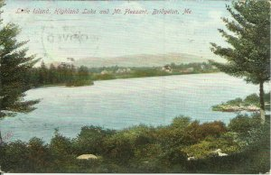 Little Island, Highland Lake And Mount Pleasant, Bridgeton, Maine