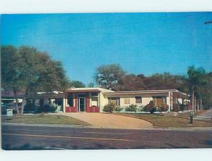 Unused Pre-1980 MOTEL SCENE St. Petersburg Florida FL B5452