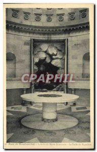 Postcard Old Park Napoleon Rambouillet The Table