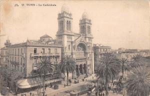 BF9117 tunisia la cathedrale tramway     Tunisia
