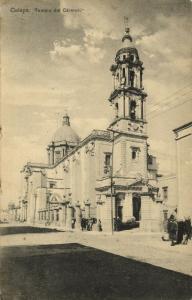 mexico, CELAYA, Guanajuato, Templo del Carmen (1910s)