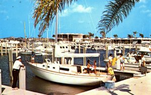 St. Petersburg, Florida - The St. Petersburg Yacht Basin - in the 1960's