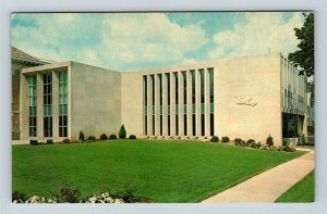Bryan OH, Bryan Public Library, Markey Children's Wing, Chrome Ohio Postcard