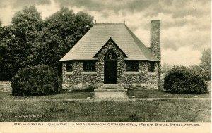 MA - West Boylston. Mt Vernon Cemetery Memorial Chapel