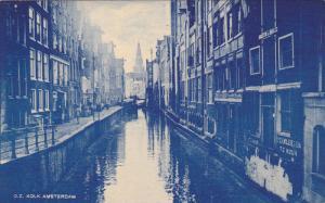 AMSTERDAM, Noord Holland, Netherlands, 1900-1910's; O.Z. Kolk
